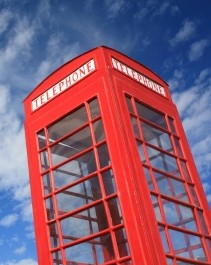 Londoni telefonfülke