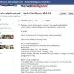 A MarketIntelligence Facebook-eseménye