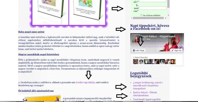 Angolkalauz weboldal