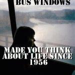 Táj a busz ablakában