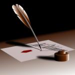 Szerelmes levél, lúdtollal írva