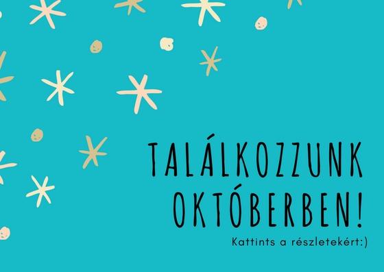 Találkozzunk októberben!