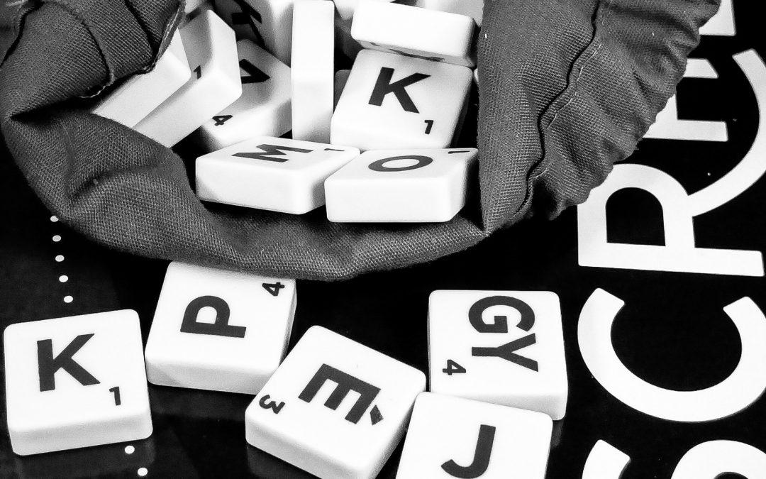 Scrabble betűk